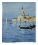 San Giorgio Maggiore Fleece Blanket