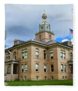 San Juan County Courthouse Fleece Blanket