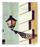 San Juan Street Lamp Fleece Blanket