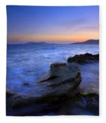 San Juan Sunset Fleece Blanket