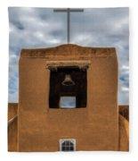 San Miguel Mission Fleece Blanket