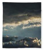 San Salvador Sunset 2 Fleece Blanket