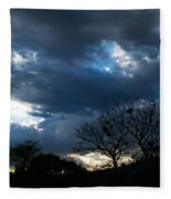 San Salvador Sunset 4 Fleece Blanket