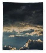 San Salvador Sunset 6 Fleece Blanket