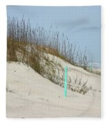 Sand And Grass Fleece Blanket