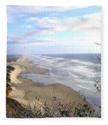Sand And Sea 7 Fleece Blanket