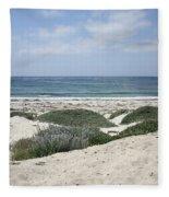 Sand And Sea Fleece Blanket