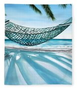 Sand And Shadows Fleece Blanket