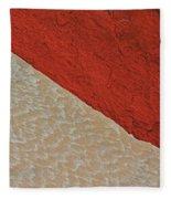 Sand And Stone Fleece Blanket