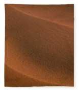 Sand Curves Fleece Blanket