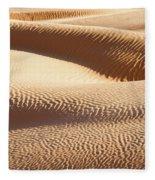 Sand Dunes 2 Fleece Blanket