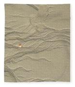 Sand Fire 2 Fleece Blanket