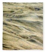 Sand Pattern Fleece Blanket