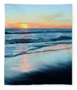 Sand Reflections Fleece Blanket