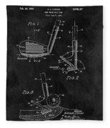 Sand Wedge Patent Fleece Blanket