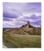 Sandal Castle  Fleece Blanket