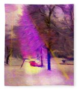 Sandburg Drive Fleece Blanket