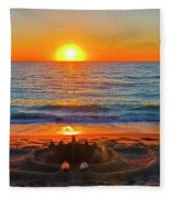 Sandcastle Fleece Blanket