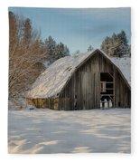 Sanders Barn Fleece Blanket