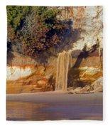 Sandfall II Fleece Blanket