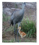 Sandhill 9 Fleece Blanket