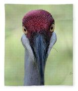 Sandhill Crane 4 Fleece Blanket