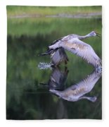Sandhill Retreat Fleece Blanket