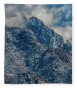 Sandia Mountains 2 Fleece Blanket