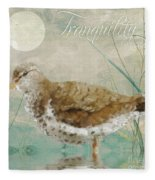 Sandpiper II Fleece Blanket