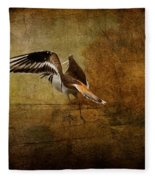 Sandpiper Piping Fleece Blanket