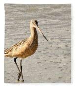 Sandpiper Strolling - Horizontal Fleece Blanket
