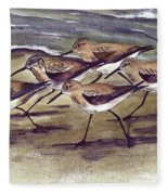 Sandpipers Fleece Blanket