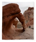 Sandstone Arches Valley Of Fire Fleece Blanket