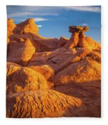 Sandstone Castle Fleece Blanket