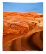 Sandstone Edge Fleece Blanket