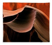 Sandstone Melody Fleece Blanket