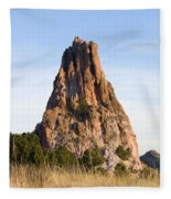 Sandstone Spires In Garden Of The Gods Fleece Blanket