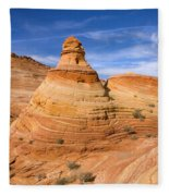 Sandstone Tent Rock Fleece Blanket