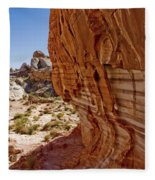 Sandstone Texture Fleece Blanket