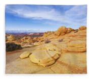 Sandstone Wonders Fleece Blanket