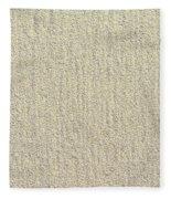 Sandy Beach Detail Lined Texture Background Fleece Blanket
