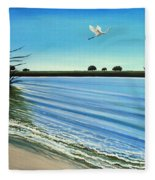 Sandy Beach Fleece Blanket