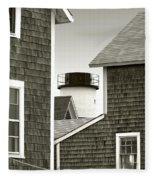 Sandy Neck Lighthouse Fleece Blanket