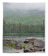 Sandy Stream Pond Fleece Blanket