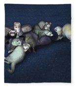 Sandy's Ferrets Fleece Blanket
