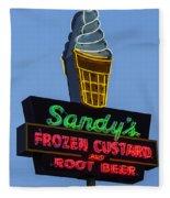 Sandys Frozen Custard - Austin Fleece Blanket