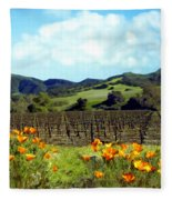 Sanford Ranch Vineyards Fleece Blanket