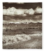 Sangre De Cristo Mountains Fleece Blanket