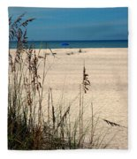 Sanibel Island Beach Fl Fleece Blanket
