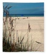 Sanibel Island Beach Fl Fleece Blanket